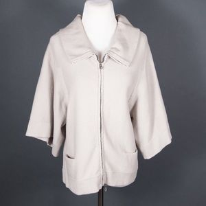 C.P. Company Short Sleeve Zip Cardigan Sweater